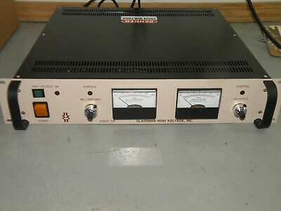 New Glassman High Voltage 6kv 50ma Power Supply Ps Er06r50.0-11