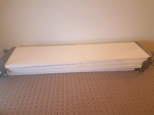4 used Ikea white shelves.. few dinks! Bondi Junction Eastern Suburbs Preview