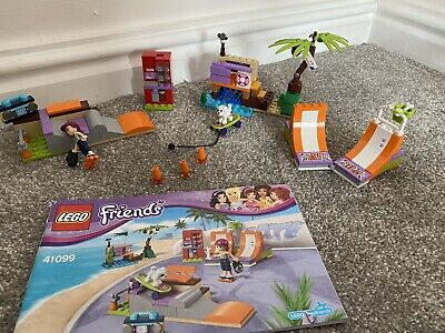 Lego Friends Heartlake Skate Park And Instructions