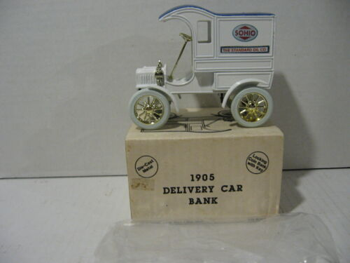 ERTL Sohio 1905 Ford Delivery Car Locking Bank - NIB