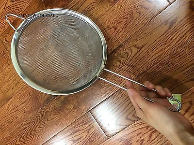 NEW 8 Large Stainless Steel Mesh Strainer w/ Handle Sieve WHOLESALE PRICE