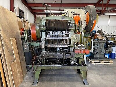Waterbury Farrel Model 15-8 Transfer Press