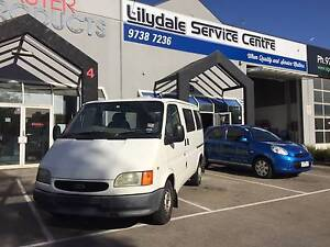 2000 Ford Transit Van/Minivan LOW KLMS 166,xxx TURBO DIESEL Lilydale Yarra Ranges Preview
