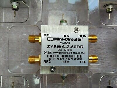 Mini-circuits Zyswa-2-50dr Coaxial Switch Spdt Ttl Dc2 To 5ghz