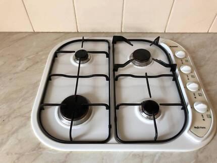BLANCO 60cm white Cooktop