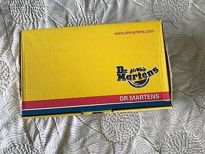 Vintage NEW Doc Martens Kids Black Boots 6N59 5 Eye Welt Sole UK 12 US Youth 13