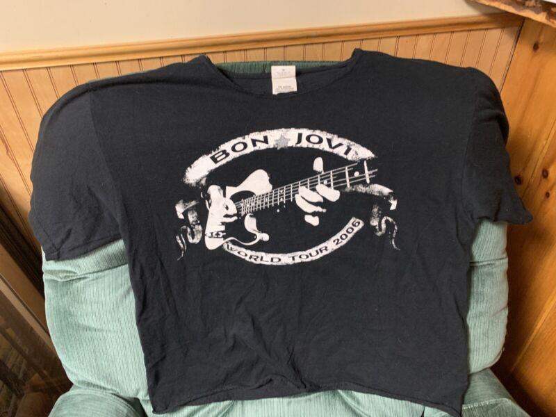 Bon Jovi World Tour 2006 Concert Tshirt Size L