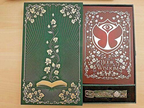 Tomorrowland Belgium 2019 The Book Of Wisdom Tresure Case ENGLISH + Unique Brace
