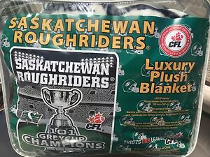 Saskatchewan Roughriders Collectors Blanket