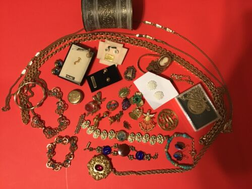 Sterling Silver & Gold plated jewelry Mix Lot