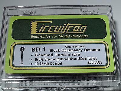 CIRCUITRON ELECTRONICS 800-5501 BD-1 BLOCK OCCUPANCY DETECTOR