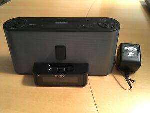 Sony ICF-C1IPMK2 Speaker System &Clock Radio with iPod Dock