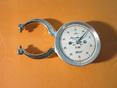 Vintage Schnelltaster 0.0025 Metrology Germany Bin16