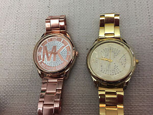 2 new MK watches- both run perfectly!