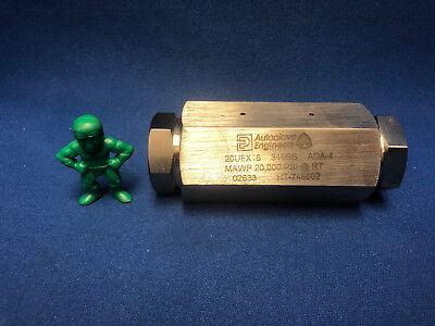 Parker Autoclave 20ufx16 1 Medium Pressure Union Coupling