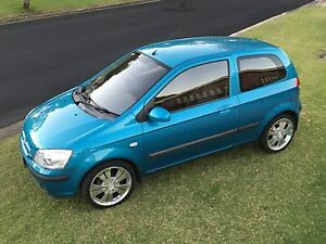 2004 Hyundai Getz Hatchback Ingleburn Campbelltown Area Preview