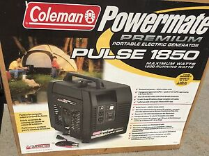 Coleman power mate generator