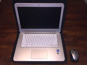 "14"" HP Chromebook (White & Silver)"