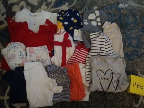 Girls Clothes 6-9 Month - Fall/Winter - Mixed Lot of 17 Pieces #146