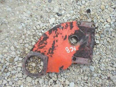 Allis Chalmers B Tractor Good Ac A C Engine Motor Mounting Cover Panel Plate Kk