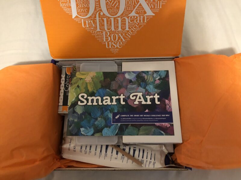 Smart Art Box Oil Painting Monthly Box