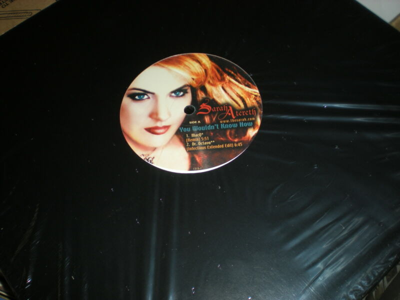 Sarah Atereth You Wouldn't Know How SEALED VINYL Mac Q Dr. Octavo Davy D mixes