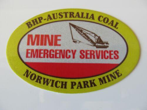 Coal Mining Stickers, BHP Australia Coal