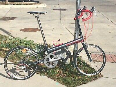 Folding Road Bicycle Bike Friday Pocket Rocket Pro/Super Pro, Dura Ace, 58cm