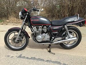 Suzuki Gs650 beautiful vintage