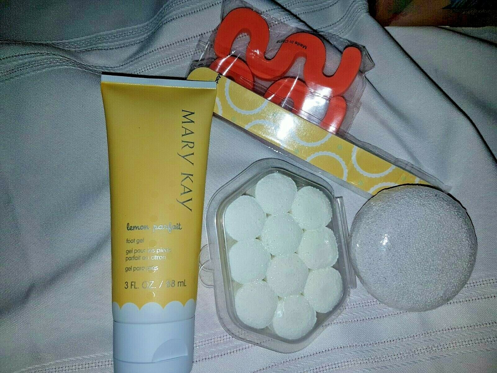 MARY KAY~PEDICURE NAIL CARE PRODUCTS SET! Lemon Parfait