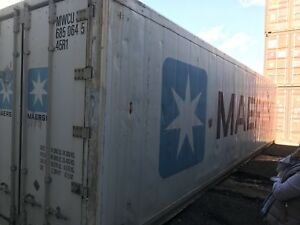 REEFER CONTAINERS. REFRIGERATED CONTAINERS.  & NON OP. INSULATED
