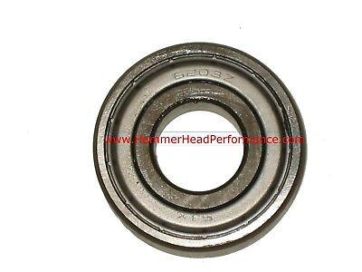 6203-zz Metal Shielded Ball Bearing 17x40x12 Lubricated 6203z 9.030.003 Qty 2