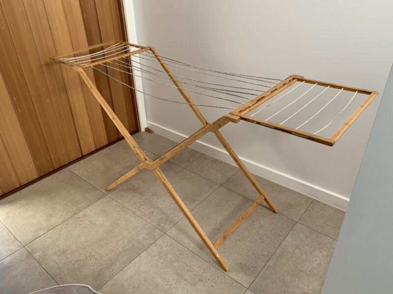 Sheridan bamboo clothes drying rack | Washing Machines & Dryers | Gumtree  Australia Brisbane South East - Hawthorne | 1253657054