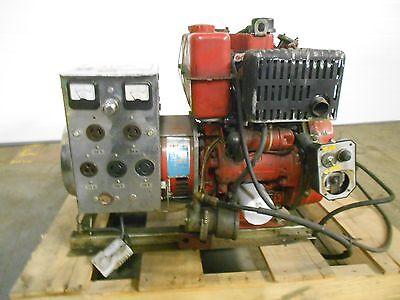 Hale Pumps Hot Shot Generator Model 4200ge-d W Lombardini Motor 1 Ph 17937lr