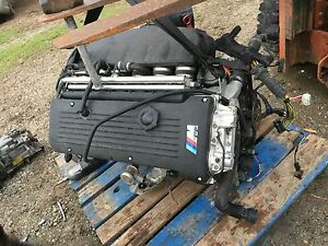 2001-2006 BMW E46 M3 Z4 M coupe S54 manual 6-seed engine motor harness 333HP 3.2