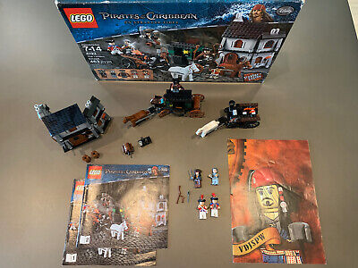Lego Pirates of the Caribbean London Escape 4193 100% Complete Excellent Cond