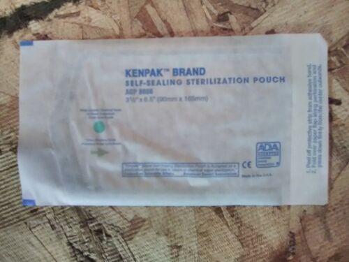 200 3.5x6.5 Self-Seal Sterilization Pouches Autoclave Bags Dental TATTOO Lab - $10.40