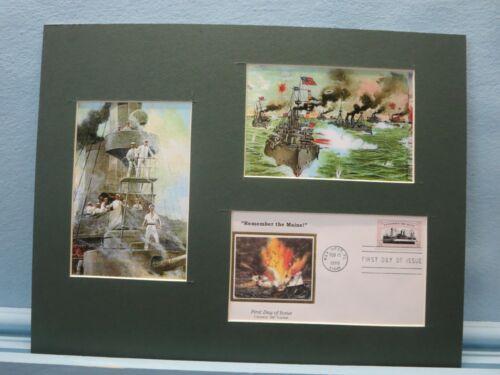 Admiral Dewey & Battle of Manila Bay & Spanish-American War First Day Cover