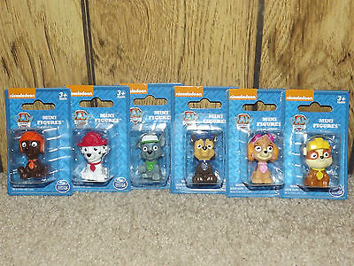MINI PAW PATROL Figure Toy OR Cake Topper LOT