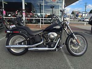 2007 HARLEY DAVIDSON SOFTAIL FXSTB GLOSS BLACK Osborne Park Stirling Area Preview