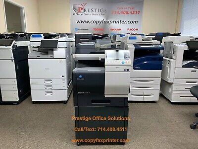 Konica Minolta Bizhub C3351 Color Copier Printer Scanner. Low Meter Only 31k