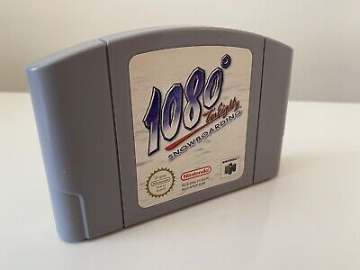 1080 Snowboarding N64 Nintendo 64 Cartridge only PAL UK CLEANED & TESTED