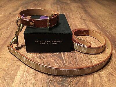 PATRICK HELLMANN Hundehalsband & Hundeleine *EXCLUSIV*