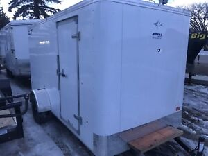 2018 royal cargo 6x12 enclosed trailer BLOW OUT!