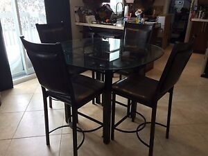 Dinette table (bistro height)