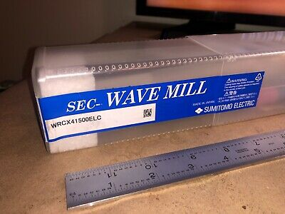 Sec- Wave Mill Sumitomo Wrcx4 1500elc Indexable End Mill Milling Cutter