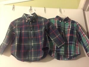 2 chemises Polo Ralph Lauren pour bb