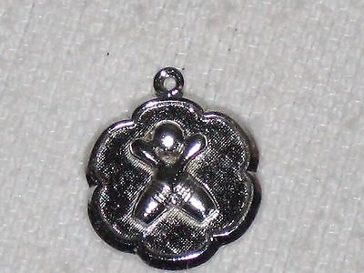Vintage Rembrandt Sterling Silver Bowling Charm Bowling Ball & Crossed Pins ()