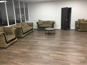4 piece sofa / couch set - family room / living room