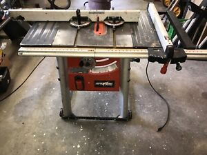 """10"""" shop table saw - $150"""